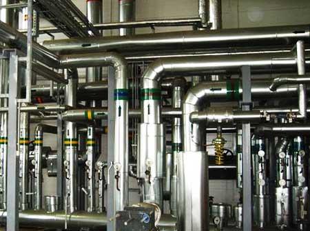 Трубопроводы системы отопления