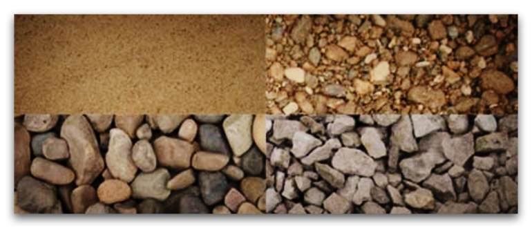 Заполнители для бетона и растворов