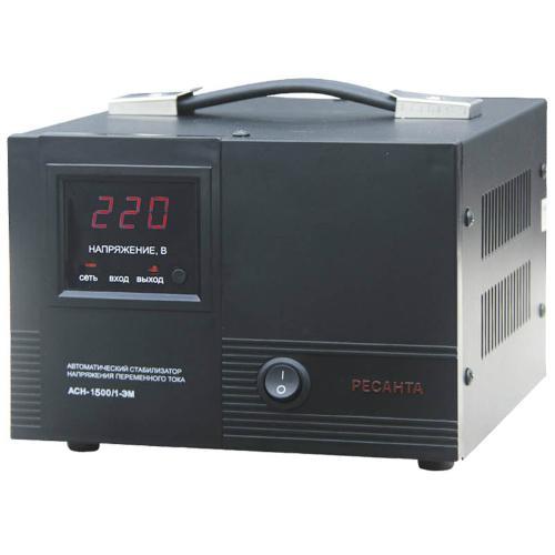 Стабилизатор напряжения АСН-1500 /1-ЭМ Ресанта