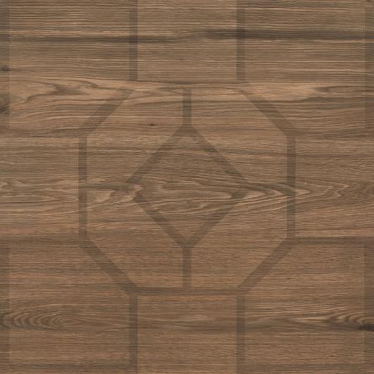 Плитка для ванной напольная коллекция Sole, GS-D6779 Cherry Decor, 45x45 см., глянцевая, коричневый Kale (Кале)