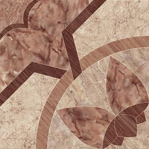 Плитка для ванной напольная коллекция Castello, CS4E392-41, 44х44 см., матовая, коричневый Cersanit (Церсанит)