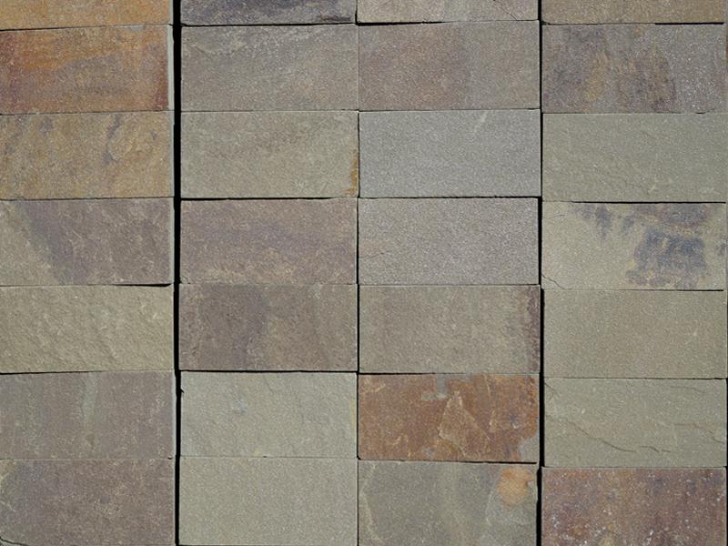 Плитка из природного камн серо-зелена (1м2) Плитка из природного камн серо-зелена (1м2)