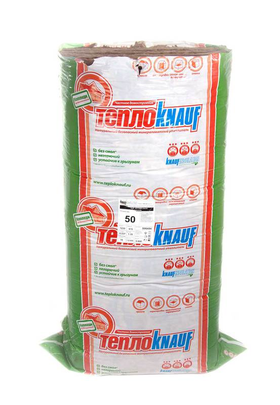 Минеральная вата KNAUF Insulation Коттедж 50 мм (плита) Минеральная вата KNAUF Insulation Коттедж 50 мм (плита)