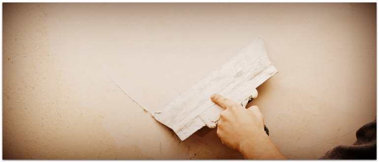 Выравнивание и шпаклевка стен под покраску