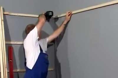 монтаж стеновых панелей на деревянный каркас