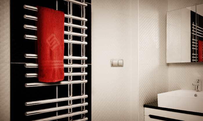 Полотенцесушитель для ванной из нержавеющей стали