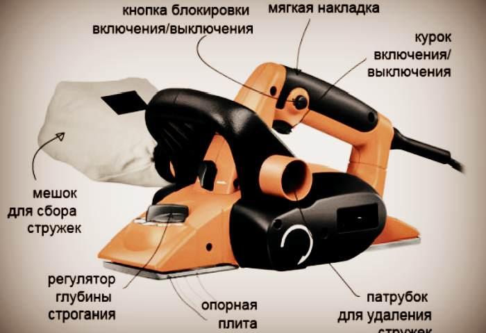 Параметры электрорубанка на которые стоит обращать внимание при покупки
