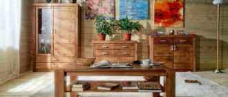 Преимущество деревянной мебели для вашего дома