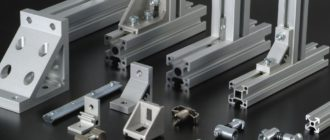 Алюминиевый конструкционный профиль от компании БИБУС
