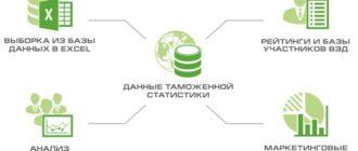 Таможенные базы данных