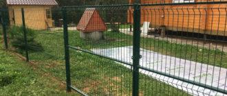 Фирма Наш забор - надежный поставщик 3Д заборов в Санкт-Петербурге
