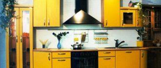 Преимущества мебели для кухни на заказ